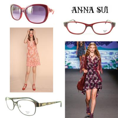 gafas de sol diseño de Anna Sui